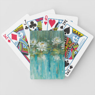Water Lily Pond Bicycle Playing Cards