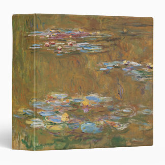 Water Lily Pond by Claude Monet Binder