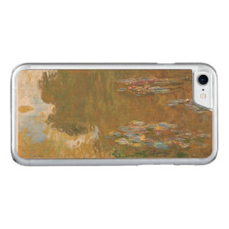 Water Lily Pond Claude Monet Carved iPhone 7 Case
