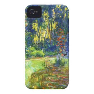 Water Lily Pond Claude Monet cool, old, master, ma iPhone 4 Covers
