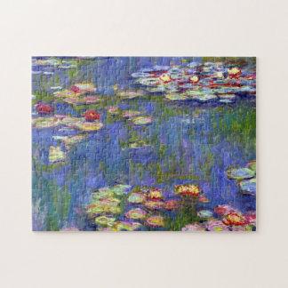 Water Lily Pond Claude Monet Fine Art Puzzles