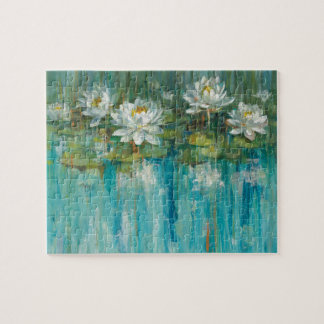 Water Lily Pond Jigsaw Puzzle
