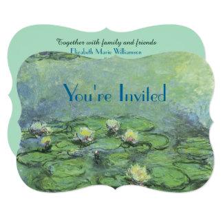 Water Lily Pond Monet Fine Art Card