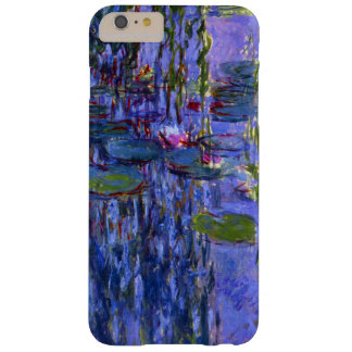 Water Lily Pond Purple Reflections Fine Art Barely There iPhone 6 Plus Case