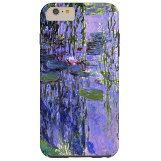 Water Lily Pond Violet Reflections Impressionism Tough iPhone 6 Plus Case