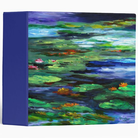Water Lily Somnolence 2010 3 Ring Binders