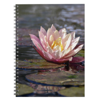 Water Lily Spiral Notebooks