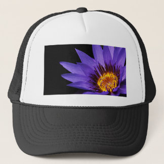 water-lily trucker hat