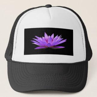 water-lily trucker hat