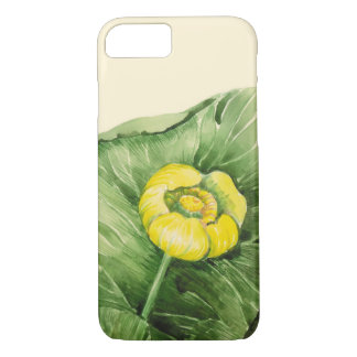 water-lily watercolor iPhone 8/7 case