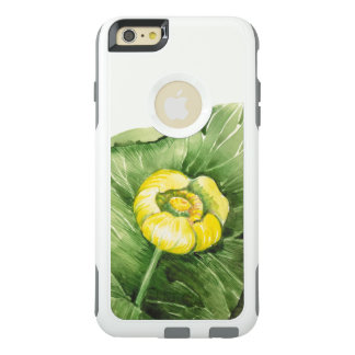 water-lily watercolor OtterBox iPhone 6/6s plus case