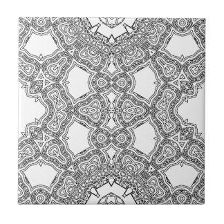 Water Line Loops Tile