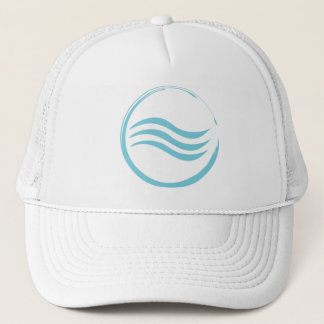 Water Logo Trucker Hat