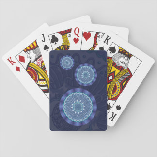 Water Mandala Classic Playing Cards