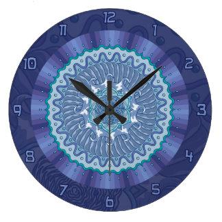 Water Mandala Clock