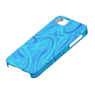 Water marbled pattern design iPhone 5 cover