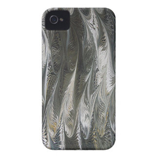 Water Marlbing - Golden Wings iPhone 4 Case-Mate Cases