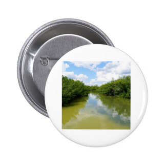 Water Meets Sky Pinback Buttons