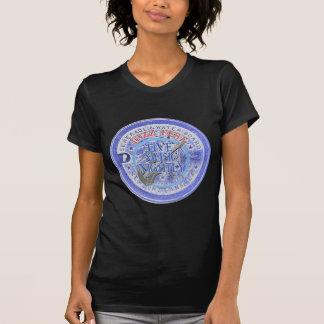 Water Meter Lid in Blue, Jazz Music Nightly T-Shirt