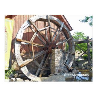 Water Mill Stone Mountain, Georgia Postcard