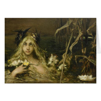 Water Nymph - Wilhelm Kotarbinski Card