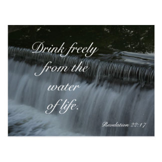 Water of Life Postcard