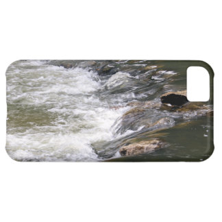 Water of the Guadiaro river jumping between rocks iPhone 5C Cover