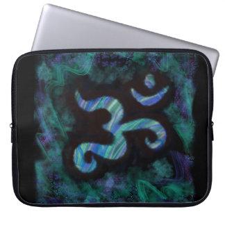 Water Om Laptop Case