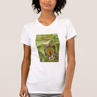 Water on dandelion seed, CA T-Shirt