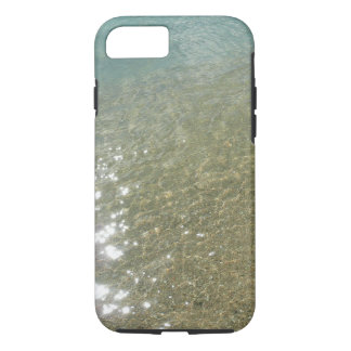 Water on the Beach I Abstract Nature Photography iPhone 8/7 Case