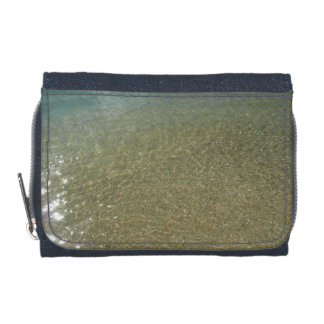 Water on the Beach I Abstract Nature Photography Wallet