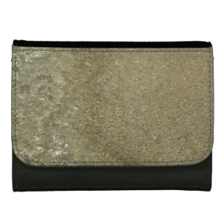 Water on the Beach II Abstract Nature Photography Women's Wallet
