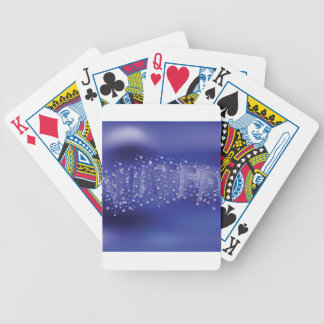 water pattern bicycle playing cards