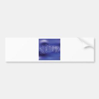 water pattern bumper sticker