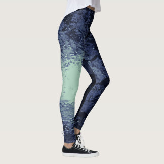 Water Photography Full Moon Leggings
