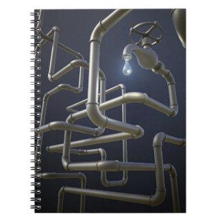 Water Pipeline Maze Notebook