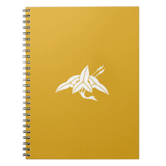 Water plantain crane notebook