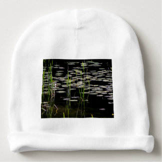Water Plants in BC Canada Baby Beanie