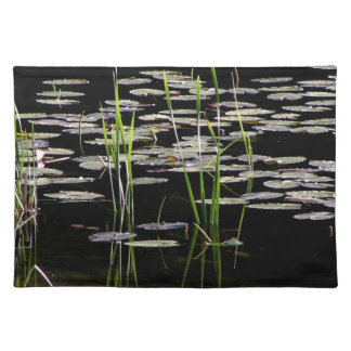 Water Plants in BC Canada Placemat
