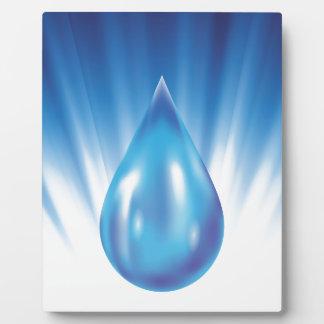 water plaque