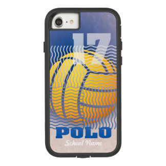 Water Polo #17 on Blue Case-Mate Tough Extreme iPhone 8/7 Case