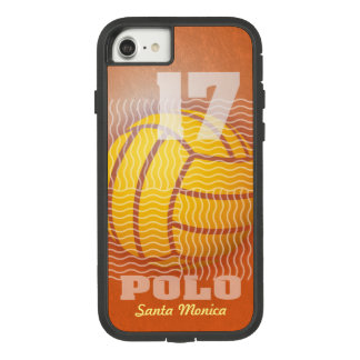 Water Polo #17 on Orange Case-Mate Tough Extreme iPhone 8/7 Case