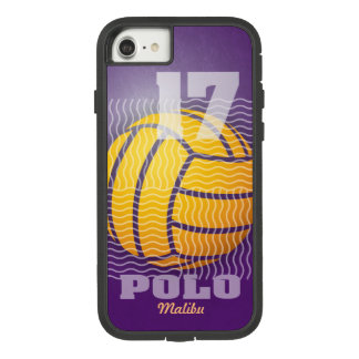 Water Polo #17 on Purple Case-Mate Tough Extreme iPhone 8/7 Case