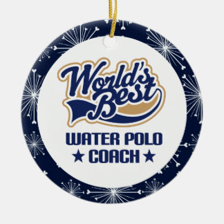 Water Polo Coach Gift Ornament