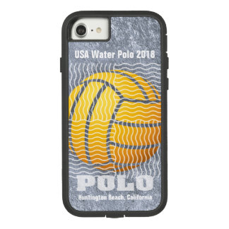 Water Polo Gray on gray Case-Mate Tough Extreme iPhone 8/7 Case