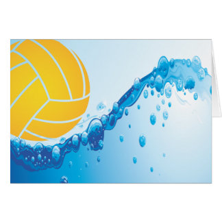 Water Polo Note Cards
