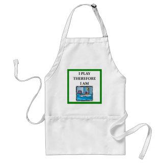 water polo standard apron