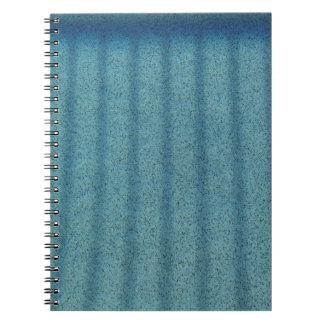 Water - Pool Bottom Notebook