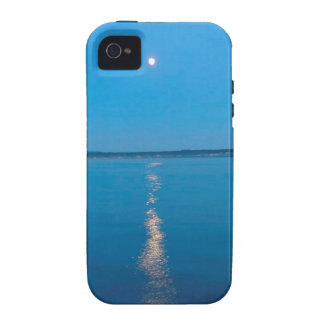 Water Reflected Moonlit Seas Vibe iPhone 4 Covers