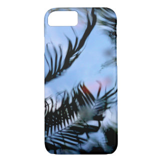 Water Reflection of a Palm Tree iPhone 8/7 Case